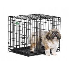 Midwest Crate клетка 61х46х48h см черная 2 двери