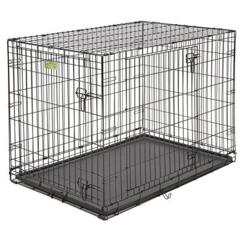 Midwest iCrate клетка 107х71х76h см черная 2 двери