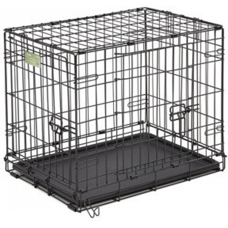 Midwest iCrate клетка 91х58х64h см черная 2 двери