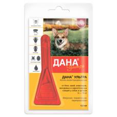 Дана Ультра капли на холку (для собак и щенков 5-10 кг)
