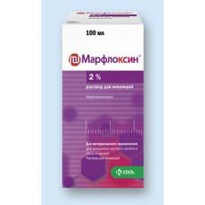 Марфлоксин 2%, раствор для инъекций, 100 мл