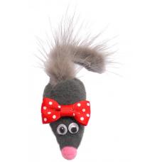 Игрушка Мышь с норковым хвостом