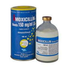 Амоксициллин 15% L.A., суспензия для инъекций, 100 мл