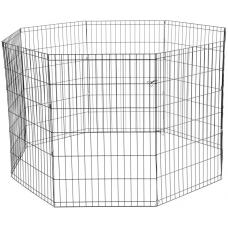 Вольер для животных, 8 секций, эмаль, 610*915 мм