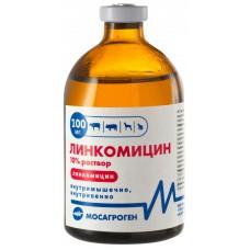 Линкомицин 10%, раствор для инъекций, 100 мл