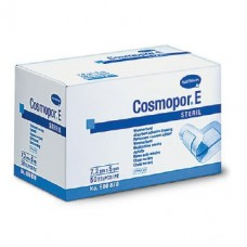 Cosmopor E steril, самоклеящиеся послеоперационные повязки: 7,2*5 см, 50 штук
