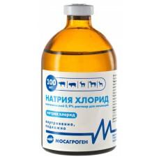 Натрия хлорид 0,9%, раствор для инъекций, 100 мл