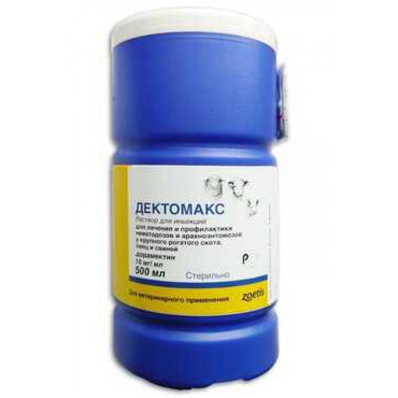 Дектомакс 1%, раствор для инъекций, 500 мл